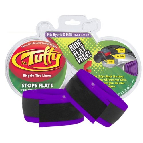 Purple Tire - Mr. Tuffy Bicycle Tire Liner (Purple, 29 X 2.0-2.35,2.5)