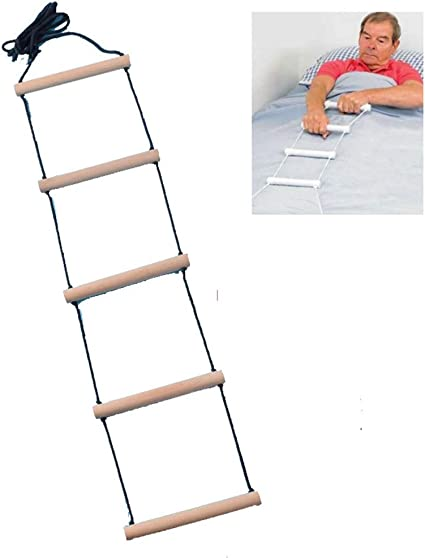 Amazon Com Zhouhuaw Bed Ladder Assist Adjustable Home Bed Helper Assist Wake Up Auxiliary Lever Bed Safety Handrail Sports Outdoors