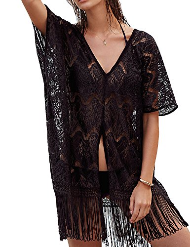 Haola Womens Floral Crochet Shirts product image