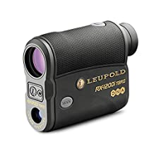 LEUPOLD RX-1200i TBR/W with DNA Laser Rangefinder Black/Gray OLED Selectable (17