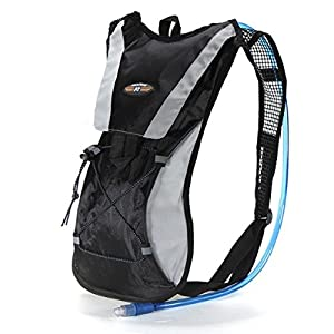 EconoLed Hydration Pack Water Rucksack Backpack Bladder Bag Cycling Bicycle Bike/Hiking Climbing Pouch + 2L Hydration Bladder US Seller with