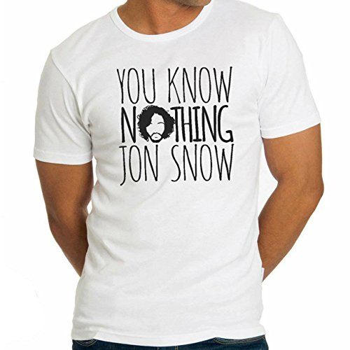 You Know Nothing Jon Snow Game Of Thrones Herren T-Shirt