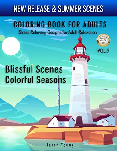 Best New Release Adult Coloring Book Stress Relieving Designs For Adult Relaxation Vol7 Enjoy New release beautiful fantastic cities and summer landscape collection with this easy coloring book for adult. Coloring Books for Adults Relaxation:...