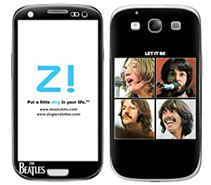 Zing Revolution The Beatles Premium Vinyl Adhesive Skin for Samsung Galaxy S 3, Let It Be Image (MS-BEAT50415