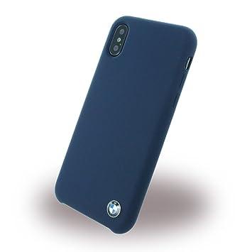 iphone x coque cuir blue