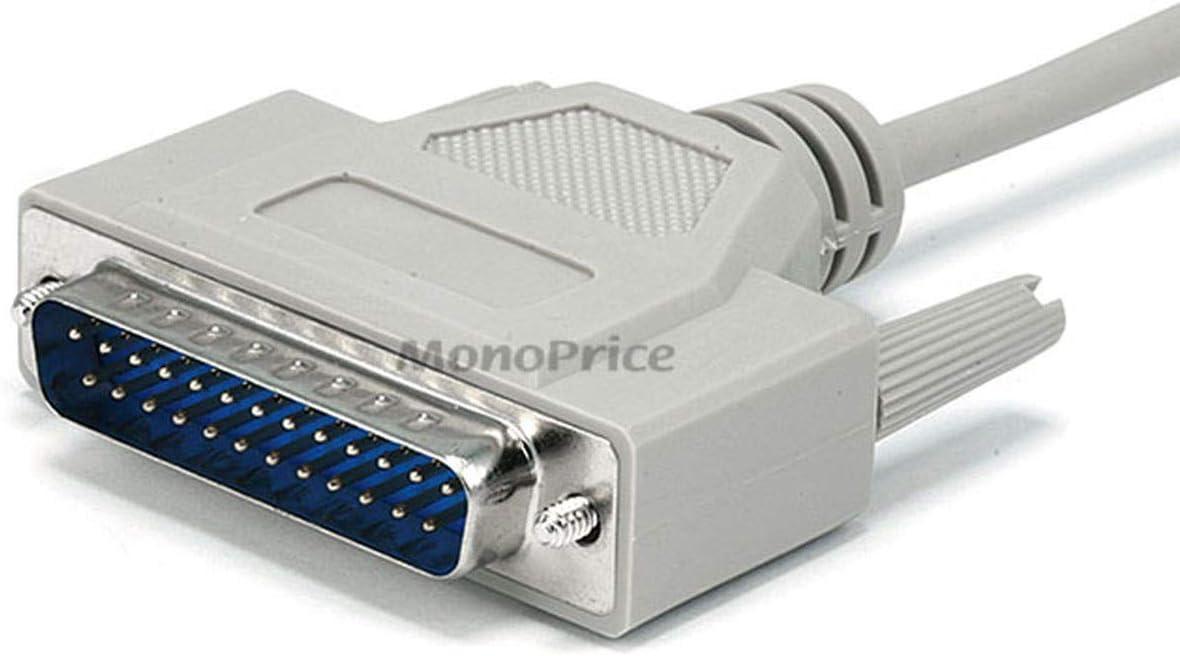 Kentek 6 Feet Mini DIN8 Cable 28AWG Molded Serial RS-232 MDIN8 8 Pin M//M for Mac