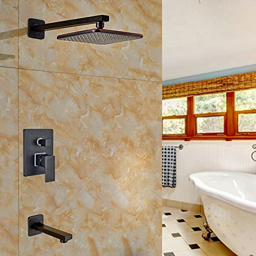 Votamuta Bathroom 2 Ways Shower Faucet Set 8\