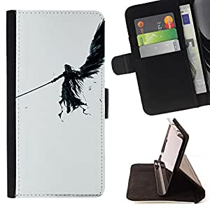 /Skull Market/ - DARK ANGEL For LG G2 D800 - Caja de la carpeta del tir???¡¯???€????€????????????¡¯&