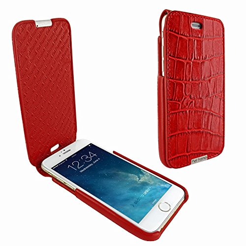 Piel Frama 685 Red Crocodile iMagnum Leather Case for Apple iPhone 6 Plus / 6S Plus / 7 Plus / 8 Plus by Piel Frama