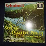 Franz Schubet , String Quartet No. 13 in A Minor, OP. 29, D 804 (1824) The Great Masters of Music Vinyl Format