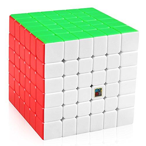 D-FantiX Moyu Cubing Classroom MF6 6x6 Speed Cube Stickerless Puzzle Cube Toy (Cube Rubik 2x2 Moyu)