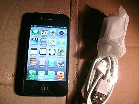 Apple iPhone 4 16GB (A1332) - GSM Factory Unlocked - No Warranty (Black) (Apple Imovie Software)