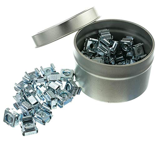 - GOWOS 10-32 Cage Nuts, 50 Pieces