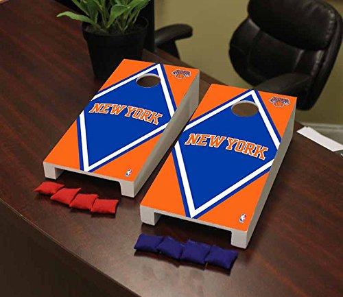 Victory Tailgate New York NYK Knicks NBA Basketball Desktop Cornhole Game Set Diamond Version by Victory Tailgate