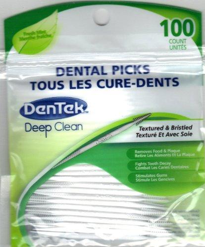 Dentek Dental Picks Textured Bristled