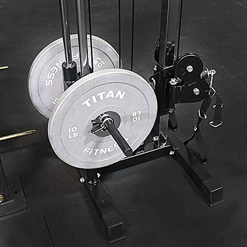 Titan Fitness Wall Mounted Pulley Tower | Tall | V2 by Titan Distributors Inc. (Image #4)