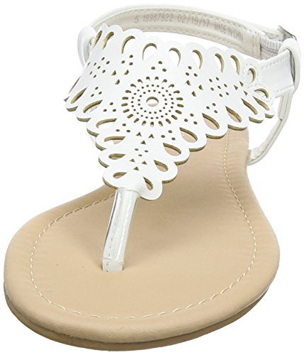 Dorothy Perkins Floss Lace - Sandalias con tacón Mujer White (White)