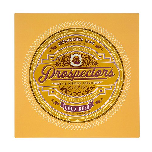 (Prospectors Gold Rush Hair Dressing Pomade, 15 oz)