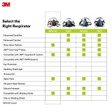 3M Respirator - Half Facepiece, Reusable, Medium, 6200/07025(AAD)