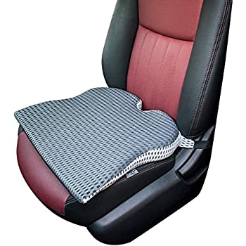 Amazon.com: Cojín para asiento de coche con gel de ...