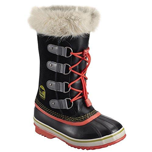 Sorel Girls' Joan Of Arctic Waterproof Winter Boot Black 1 M US by SOREL