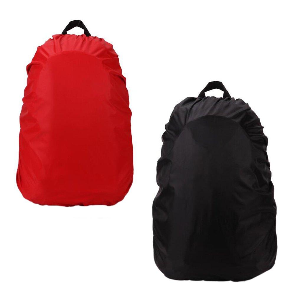 Zaptex Backpack Rain Cover Elastic Adjustable Water Rain Proof Pack of 2