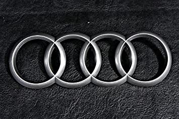 Genuine NEW OEM Audi Engine Cover Emblem Logo Part HA - Audi emblem