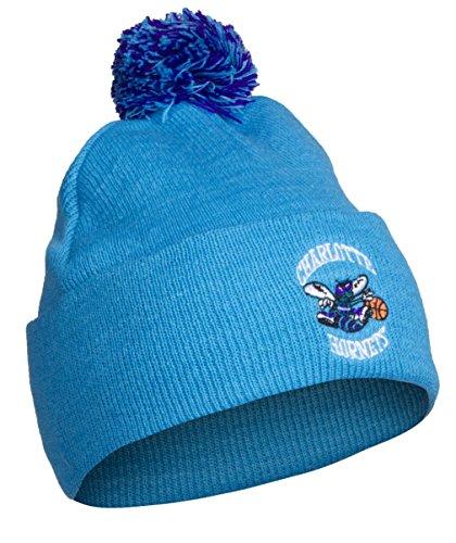 NBA Charlotte Hornets Cuff Pom Pom Beanie Knit Hat Cap by NBA