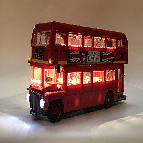 [해외] LEGO 레고 creator 10258 호환 런던 버스 LONDON BUS LED 라이트 키트