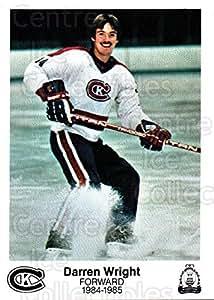 Darren Wright Hockey Card 1984-85 Kingston Canadians #21 Darren Wright
