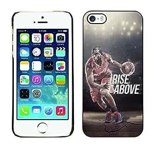 BasketCase Chris Paul MVP Basketball For SamSung Galaxy S4 Mini Phone Case Cover / Slim 360 Protection PC / Aluminium Protector Shell Rugged Kimberly Kurzendoerfer