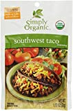 Simply Organic Seasoning Mix, Southwest Taco, 1.13 Oz
