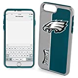 Forever Collectibles Iphone 7 Plus/8 Plus Bold Series Dual Layered Case for NFL Philadelphia Eagles - Compatible with Iphone 6 Plus/6S Plus