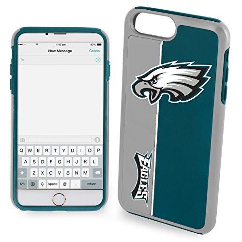 Forever Collectibles Iphone 7 / 8 Bold Series Dual Layered Case for NFL Philadelphia Eagles - Compatible with Iphone 6 / 6S