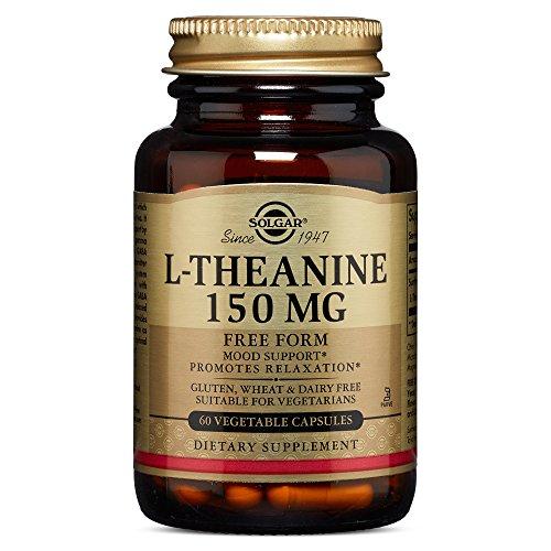 Solgar – L-Theanine 150 mg, 60 Vegetable Capsules