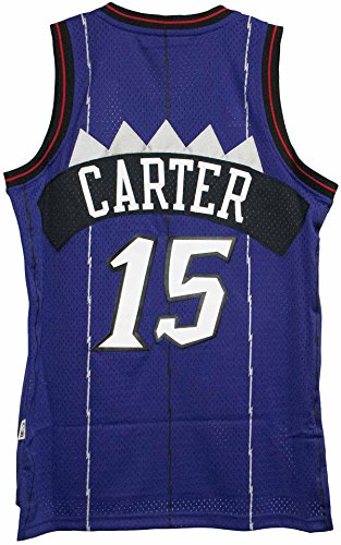 Vince Carter Toronto Raptors Purple Throwback Swingman Jersey Small