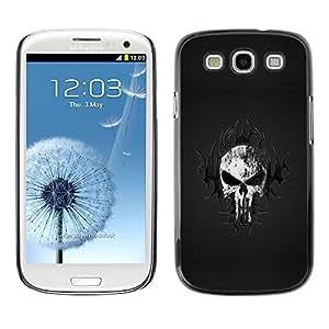 LECELL -- Funda protectora / Cubierta / Piel For Samsung Galaxy S3 I9300 -- Tribal Skull --