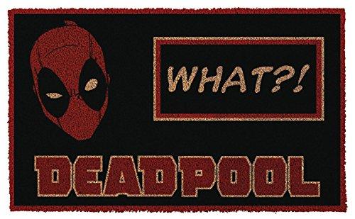 Pyramid America GPA70011 Deadpool Doormat, Multi]()