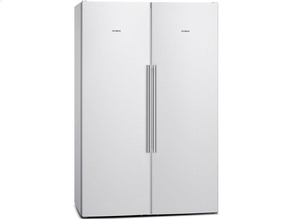 Side By Side Kühlschrank Weiß : Siemens ka naw side by side kühl gefrier kombination weiß