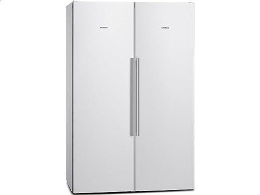 Amerikanischer Kühlschrank Siemens : Siemens ka naw side by side kühl gefrier kombination weiß