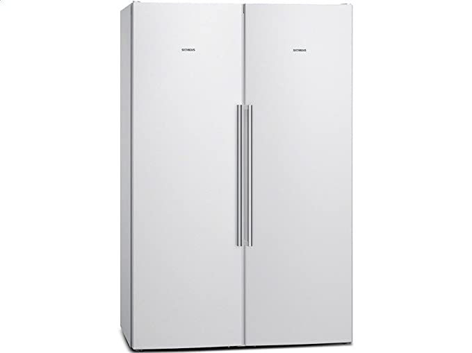 Platzbedarf Amerikanischer Kühlschrank : Siemens ka99naw35 side by side kühl gefrier kombination weiß