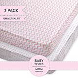 Crib Sheet Set | Toddler Sheet Set 2 Pack