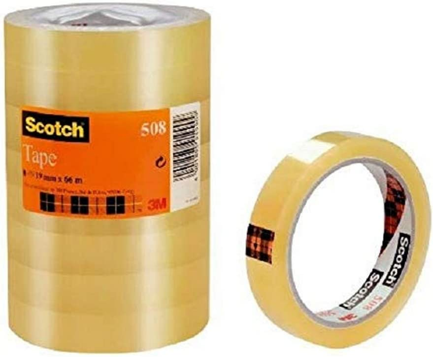 Transparent general purpose adhesive tape