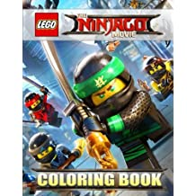 The LEGO NINJAGO Movie: Coloring Book for Kids, Activity Book (Exclusive high-quality Illustrations 2017)