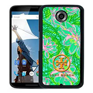 Fashionable And Unique Designed Case For Google Nexus 6 With Tory Burch 29 Black Phone Case
