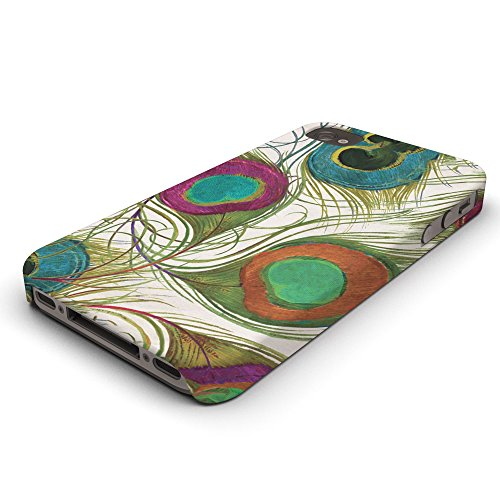 Koveru Back Cover Case for Apple iPhone 4/4S - Peacock Feather
