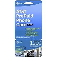 AT&T 1200 Minute Prepaid Phone Card (Calling Card)