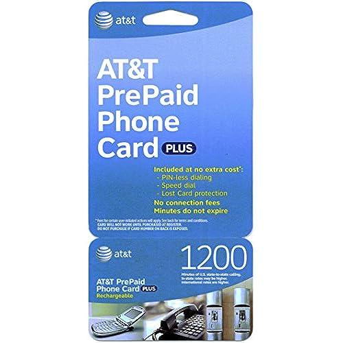 att 1200 minute prepaid phone card calling card - Long Distance Calling Cards