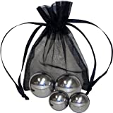 Explore your wild and adventurous side with our optisex silver ben wa balls. Elegant set includes 4 insertable solid ben wa balls in two different sizes. Inserted vaginally these balls provide silent self-perpetuating internal vibrations. Ideal for k...