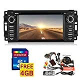 "6.2"" 1 Din Car DVD Player for 2007-2010 Jeep/commander/wrangler with Bluetooth,gps,ipod,canbus Free Map"